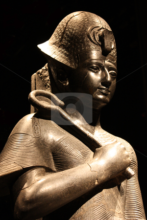 Statue of Ramesses II  stock photo, Egyptian statue in the Museo Egizio, in Turin, Italy. This museum is specialising in Egyptian archaelogy and anthropology. It houses the world's largest and most comprehensive collection of Egyptian antiquities outside the Egyptian Museum in Cairo by Perseomedusa