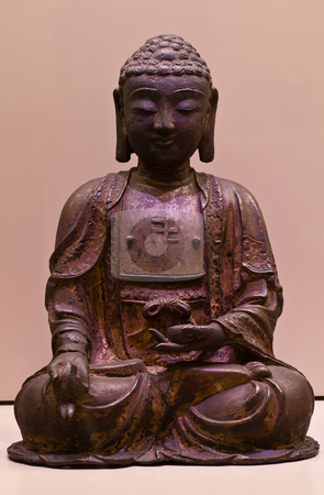 Buddha seated stock photo, Cropped for icon usage. good for conceptual. by Perseomedusa
