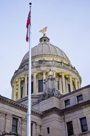 Jackson - State Capitol Building stock photo, Jackson, Mississippi - State Capitol Building by Henryk Sadura