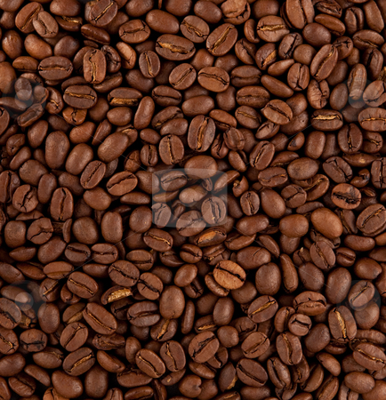Coffee stock photo, coffee beans as background by trgowanlock