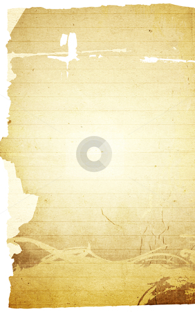 Blank note paper background stock photo, grunge textures blank note paper background by ilolab
