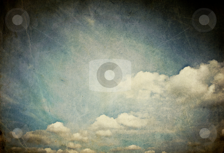 Vintage sky classic background stock photo, Vintage sky classic background by pashabo