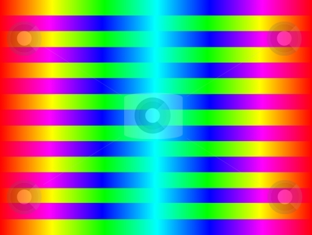 Funky color background stock photo, funky color bakcground with the colors red, yellow, green, blue by Henrik Lehnerer