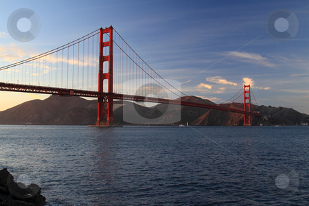 Golden Gate Bridge stock photo, Golden Gate Bridge, San Francisco by Olena Pupirina