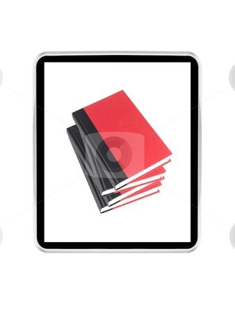 Ebook stock photo, A conceptual image of a modern e book reader by Kitch Bain
