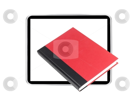 Ebook stock photo, A conceptual image of a modern e book reader by Kitch Bain