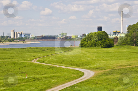 The Rhine stock photo, scenery along the riverbanks of the rhine by Juliane Jacobs