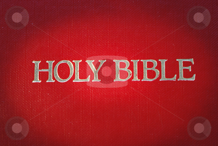 The cover of the Holy Bible is highlight  stock photo, The cover of the Holy Bible is highlight  by johnkwan