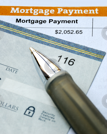 Paying the mortgage for the primary residence stock photo, Paying the mortgage for the primary residence by johnkwan