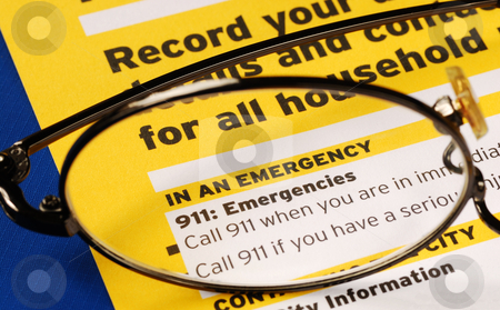 Provide the contact information in case of emergency stock photo, Provide the contact information in case of emergency by johnkwan