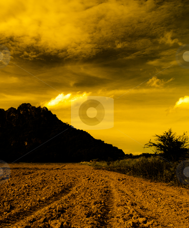Mountains, dark and mysterious. stock photo, Mountains, dark and mysterious. by Na8011seeiN