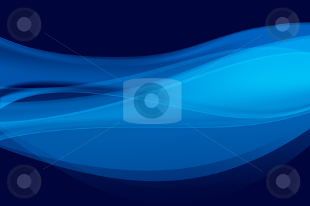 Abstract blue background, wave, veil or smoke texture - computer generated picture stock photo, Abstract blue background, wave, veil or smoke texture - computer generated picture by arzawen