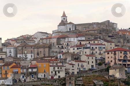 Basilicata (Potenza) - Oppido Lucano, ancient town stock photo, Basilicata (Potenza) - Oppido Lucano, ancient town by clodio