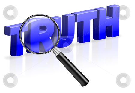 Truth search find justice stock photo, truth search find justice or right answer by Dirk Ercken