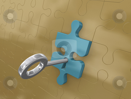 Platinum key stock photo, Platinum key by dacasdo