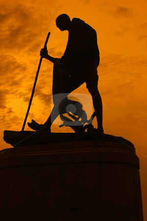 Statue of Mahatma Ghandi  stock photo, Statue of Mahatma Ghandi  by ajithclicks
