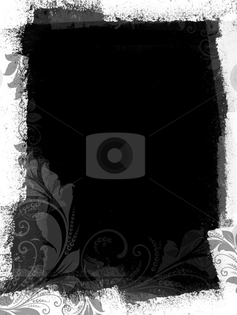 Grungy Black and White Space stock photo,  by HypnoCreative