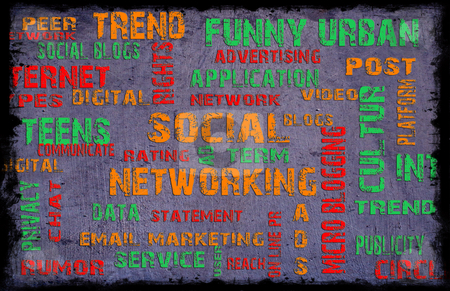Social networking background stock photo, social networking background by ajithclicks
