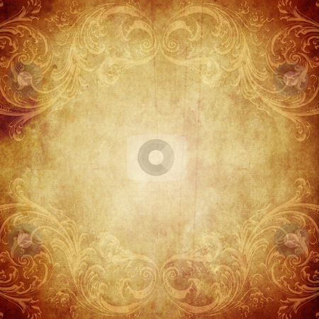 Vintage Paper Background stock photo, Vintage paper background with grunge and decorative details by HypnoCreative