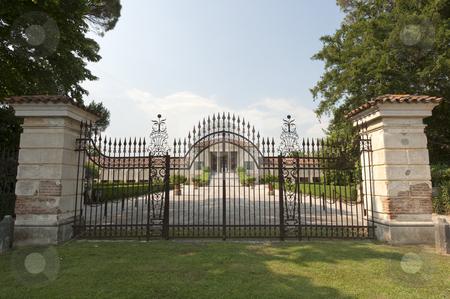 Fanzolo (Treviso, Veneto, Italy) - Villa Emo stock photo, Fanzolo (Treviso, Veneto, Italy) - Villa Emo, made by Palladio in 1558 by clodio