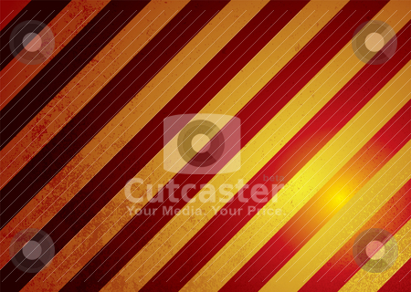 Alert warning modern stock vector clipart, Modern realistic warning sign background in red and yellow by Michael Travers