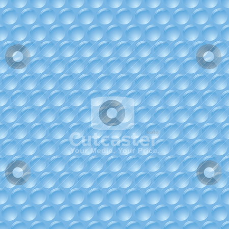 Bubble wrap stock vector clipart, Illustrated bubble wrap with unpopped plastic protection sheet by Michael Travers