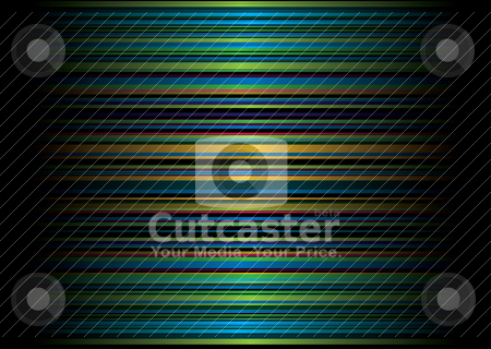 Vert autumn stripe stock vector clipart, Rustic colors used on the horizontal stripped background pattern by Michael Travers