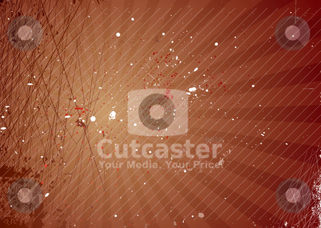 Radiate cut grunge stock vector clipart, Grunge inspired background with radiating elements and ink splats by Michael Travers