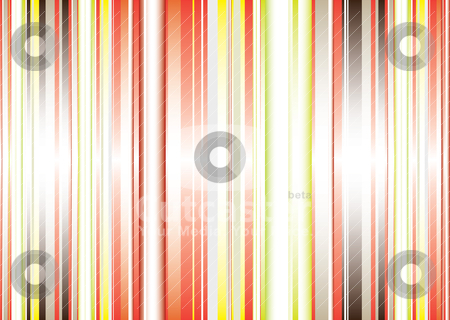 Gradient abstract vert stock vector clipart, Abstract stripe background with gradient effect in green and red by Michael Travers