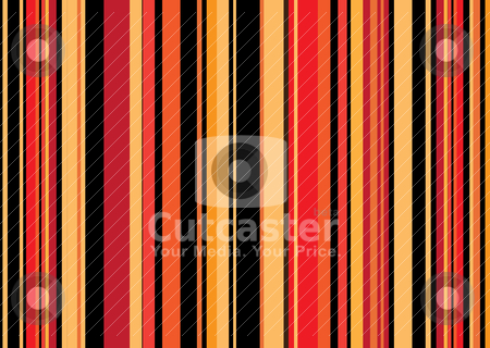 Dark autumn stripe retro stock vector clipart, Retro coloured abstract striped background that would make an ideal wallpaper by Michael Travers