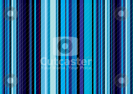 Dark blue vert stock vector clipart, Abstract blue background with different shades of colour and stripes by Michael Travers