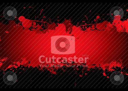Blood stream stock vector clipart, Bright red blood stream with abstract background effect with copyspace by Michael Travers