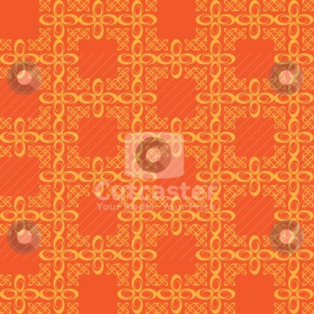 wallpaper vintage pattern. A vintage wallpaper pattern