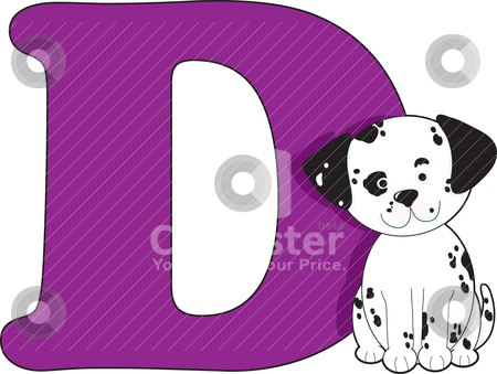 Alphabet Letter stock vector clipart, Alphabet Letter by Maria Bell