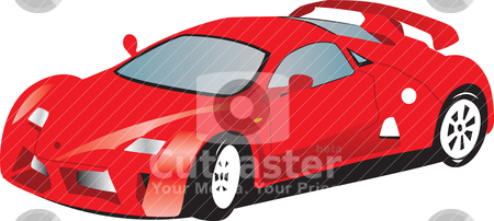Sport   on Sports Car Stock Vector Clipart  Illustration Of A Toy Red Sports Car