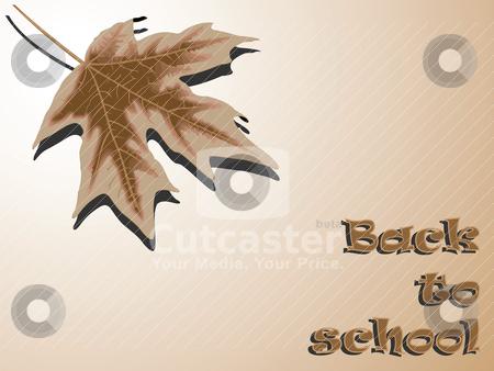 Back to school season stock vector clipart, back to school season by Laschon Robert Paul