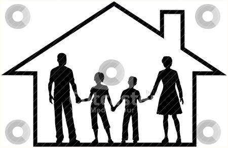 Clip Art Home. art clipart house outline.