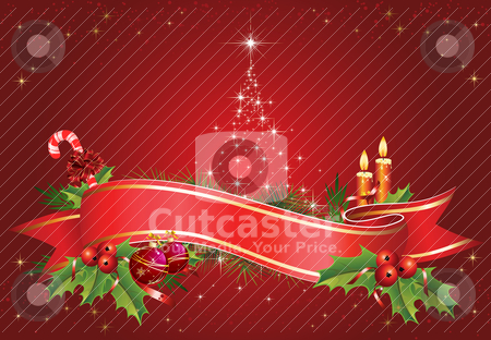 Christmas Theme stock vector clipart, Christmas vectorial illustration. All elements are editable. by Bagiuiani Kostas