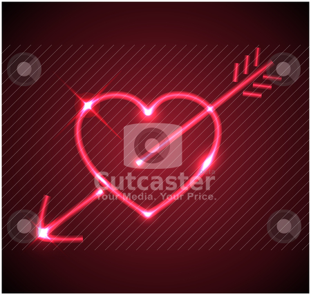 clipart heart with arrow. #800916674Red heart with arrow