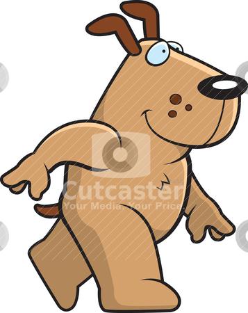 clipart dog walking. #800923120 Dog Walking