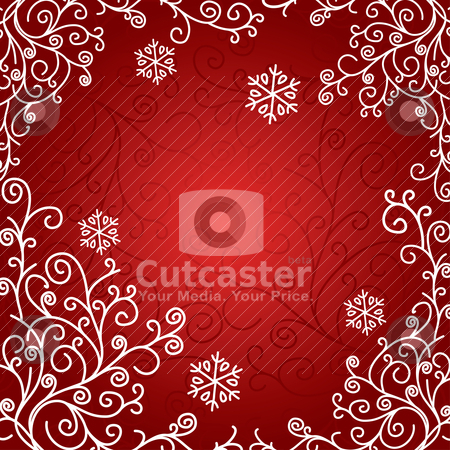 Artistic christmas card stock vector clipart, artistic christmas card vector illustration by SelenaMay