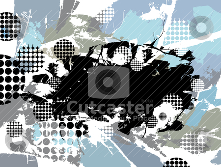 Abstract grunge background stock vector clipart, abstract grunge background vector illustration by SelenaMay