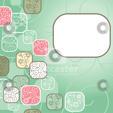 Abstract cute background stock vector clipart, abstract cute background with free place for your text by SelenaMay