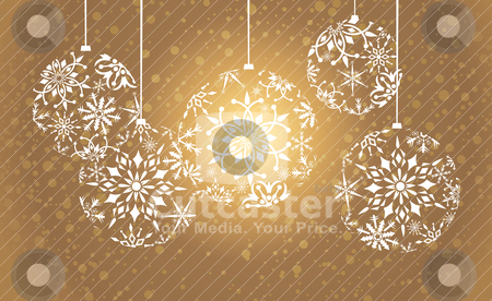 Christmas background stock vector clipart, abstract christmas background vector illustration by SelenaMay