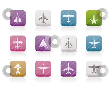 Airplane Icons Free. different types of plane icons