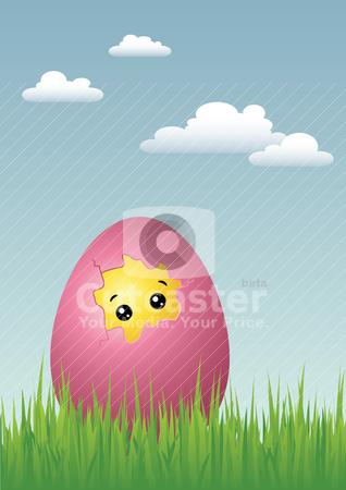 clip art easter eggs border. clip art easter chick.
