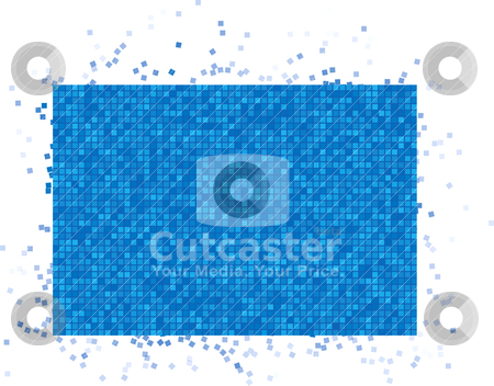Abstract vector background stock vector clipart, Abstract vector background by sermax55