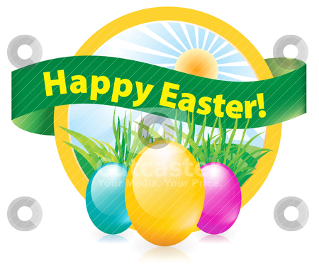 Easter egg  stock vector clipart, easter egg  by sermax55