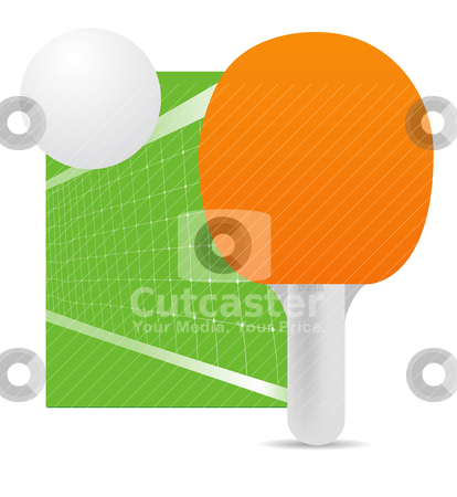 Ping pong  stock vector clipart, ping pong  by sermax55