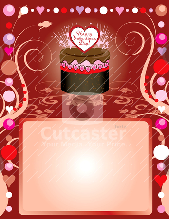 Love Party Template 3 stock vector clipart, Vector Illustration can be used as a book cover, card or anything you choose. There is room for your text. by Basheera Hassanali